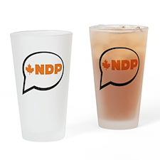 Speak NDP Drinking Glass