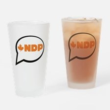 Speak NDP Drinking Glass