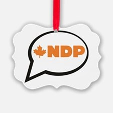 Speak NDP Ornament