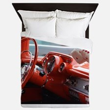 Cute Windshield Queen Duvet