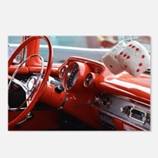 Cute Muscle cars Postcards (Package of 8)