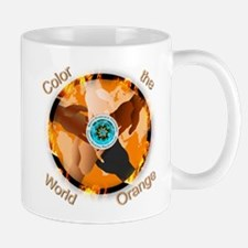 Color the World Orange CRPS Awareness F Mugs