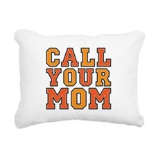 Call Your Mom Rectangular Canvas Pillow