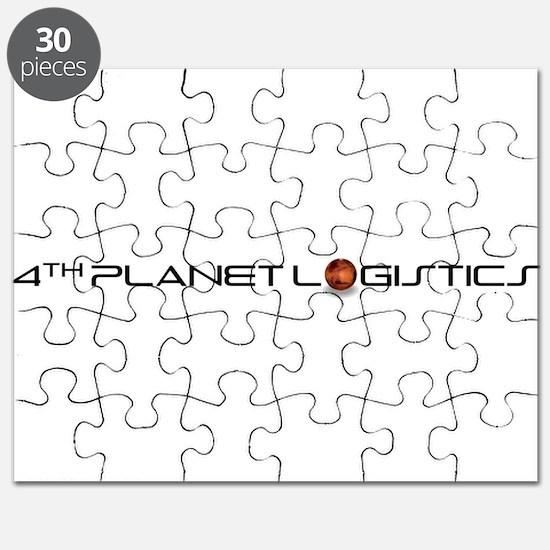 4th Planet Logistics Transparent Logo Puzzle