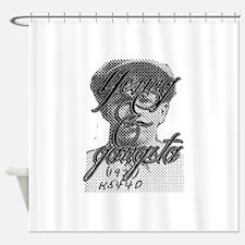 Young & Gangsta Shower Curtain