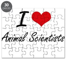 I love Animal Scientists Puzzle