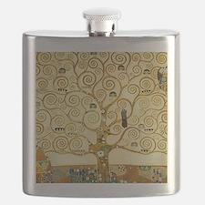 Gustav Klimt Tree Of Life Flask