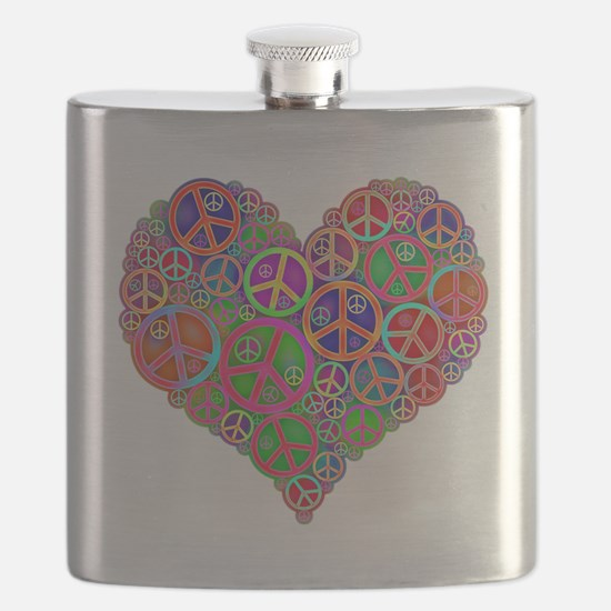 Peace and Love Flask