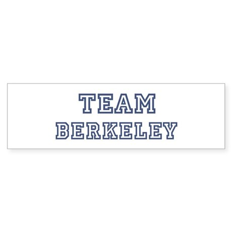 Team Berkeley Bumper Sticker
