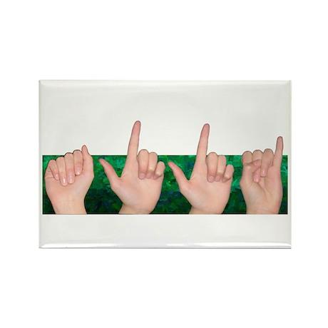Alli Rectangle Magnet (10 pack)