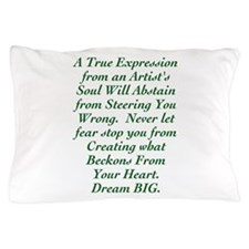 An Artist's Soul Pillow Case