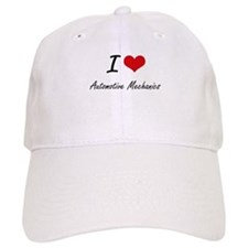 I love Automotive Mechanics Baseball Cap