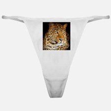 Leopard Portrait Classic Thong