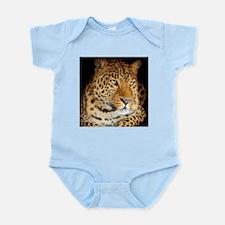 Leopard Portrait Body Suit