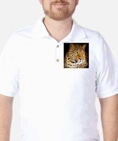Leopard Portrait Golf Shirt