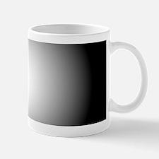 Black/white Radial Gradient Design Mugs