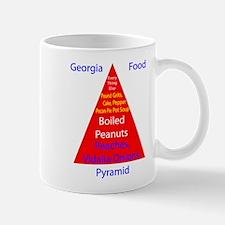 Georgia Food Pyramid Mug