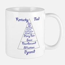 Kentucky Food Pyramid Mug