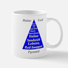 Maine Food Pyramid Mug