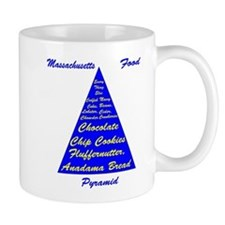 Massachusetts Food Pyramid Mug