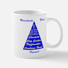 Massachusetts Food Pyramid Mug