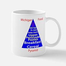 Michigan Food Pyramid Mug