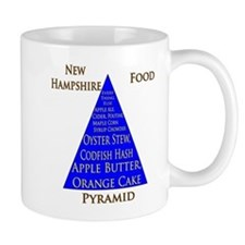 New Hampshire Food Pyramid Mug