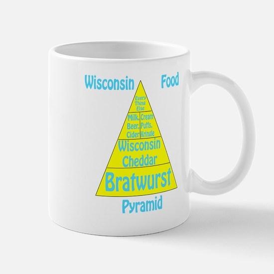 Wisconsin Food Pyramid Mug