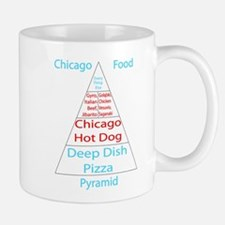 Chicago Food Pyramid Mug