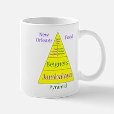 New Orleans Food Pyramid Mug