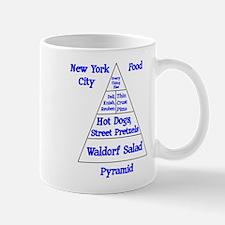 New York Food Pyramid Mug