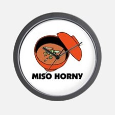 Miso Horny - Me So Horny Wall Clock