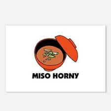 Miso Horny - Me So Horny Postcards (Package of 8)