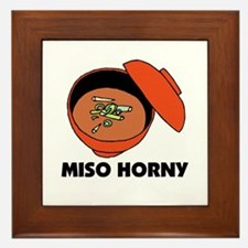 Miso Horny - Me So Horny Framed Tile