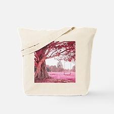Pink Tree Swing Tote Bag