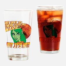 Life On Mars Drinking Glass
