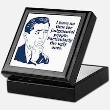 People Humor Keepsake Box