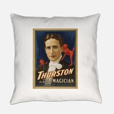 Thurston - The Great Magician Everyday Pillow