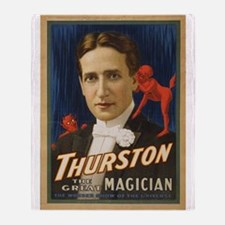 Thurston - The Great Magician Throw Blanket