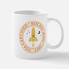 Certified rocket man Mug