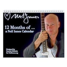 12 Months Of ... Wall Calendar