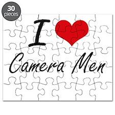 I love Camera Men Puzzle