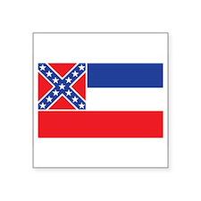 """Cute Mississippi state Square Sticker 3"""" x 3"""""""