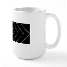 Black / Gray Diamond Design Mugs