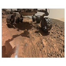 Mars Rover Curiosity Sel Poster