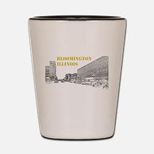 Bloomington Normal - Main Street Shot Glass