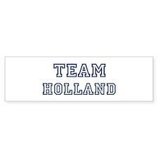 Team Holland Bumper Bumper Sticker