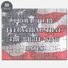 Proud To Be Left Puzzle