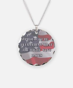 Proud To Be Left Necklace