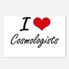 I love Cosmologists Postcards (Package of 8)